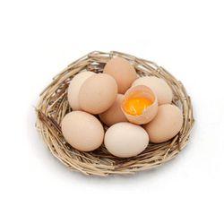 花果美颜 农家散养土鸡蛋 30枚
