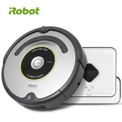 iRobot Roombar 651扫地机器人+Braava381擦地机器人套装