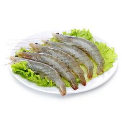 禧美海产 厄瓜多尔白虾 1.8kg 50-60只/kg
