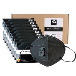 名典上品 M950VC KN95 带呼吸阀活性炭口罩 25只 *2件