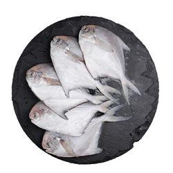 纯色本味 冷冻舟山白鲳鱼 400g*4袋 +冷冻舟山带鱼段(去头去尾) 500g*4袋
