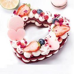 Best Cake 贝思客 一见倾心 心形水果奶蛋糕 370g