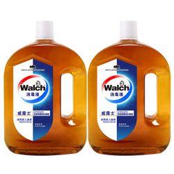 Walch 威露士 家用消毒液 1.6Lx2 *3件 +凑单品