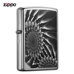 ZIPPO 之宝 抽象齿轮 煤油防风火机 *2件
