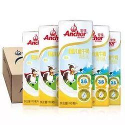 安佳儿童牛奶 新西兰进口金装原味儿童奶190ml*27整箱装  *2件