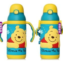Disney 迪士尼 儿童保温吸管杯 小熊 400ml