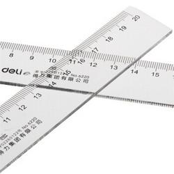deli 得力 6220 塑料直尺 20cm