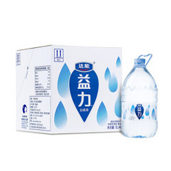DANONE 达能 益力 饮用天然矿泉水 5L*4瓶 *7件