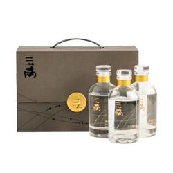 三两 四川宜宾五粮浓香型 52度 150ml*3瓶 +凑单品