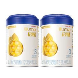 Wyeth 惠氏 启赋 illuma 婴幼儿奶粉 3段 900克 2罐装