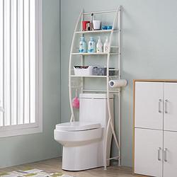 心家宜 浴室置物架马桶架  免打孔 *3件