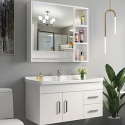 Uniler 聯勒  百靈款 實木多層板浴室柜 80cm