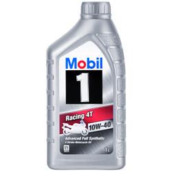 Mobil 美孚1号 雷霆4T 四冲程摩托车全合成机油 10W-40 SH级 1L *2件