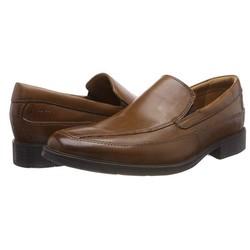 Clarks 男士 tilden 免费一脚蹬乐福鞋