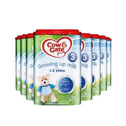 Cow&Gate 牛栏 婴儿奶粉 3段 900g *3件