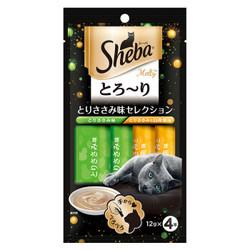 Sheba 希寶 成貓零食貓條 雞肉+鯛魚 12g*4條 *2件