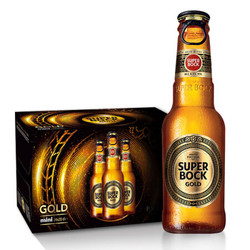 SUPER BOCK 超級波克 GOLD金啤酒 4.5度 200ml*24瓶 *2件