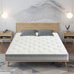 京造 乳胶3D软硬两用弹簧床垫 150*200cm
