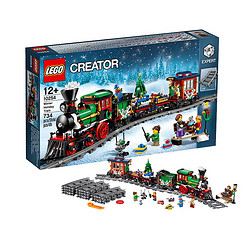 LEGO 乐高 Creator 创意百变系列 10254 冬季度假列车 *2件