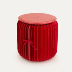 十八紙 便攜式折疊凳  紅色款 *2件