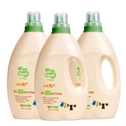 小浣熊 兒童皂液嬰兒倍護洗衣液 2L*3瓶 *3件