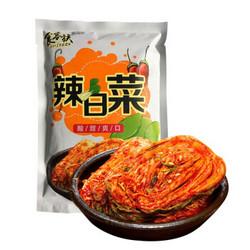食客族  韩国正宗辣白菜 开胃小咸菜 500g/袋*3