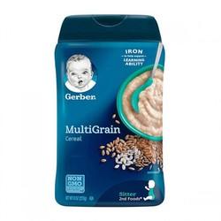Gerber 嘉宝 宝宝混合谷物米粉 2段 227g 罐装 *3件