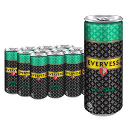 Evervess 依维世 干姜水 气泡饮料 320ml*12听