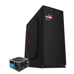 BUBALUS 大水牛 云逸+劲强400W 台式主机电脑机箱电源套装
