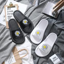 鴻潮踏 B5223 小雛菊厚底拖鞋