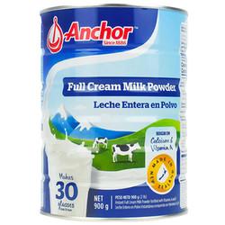 Anchor 安佳 进口全脂奶粉高钙 900g
