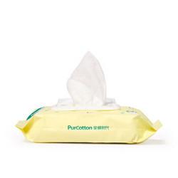 Purcotton 棉时代 婴儿湿巾 80抽/包 *3件