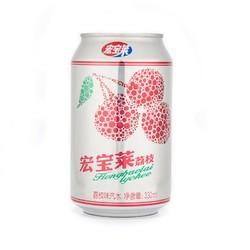 宏宝莱 荔枝口味汽水饮料 330ml*6罐装  *6件【已结束】