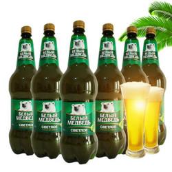 棕熊 波罗的海贝德里麦熊啤酒 1.5L*6瓶