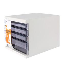 M&G 晨光 ADMN4033 四层桌面文件柜 灰色 *2件 +凑单品