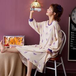 美思香 长款纯棉卡通睡裙