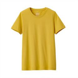 MUJI 无印良品 BBA01A0S 女式印度棉天竺编织T恤 *2件