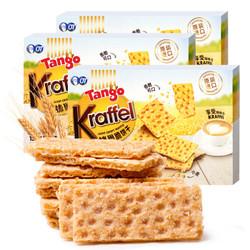 Tango 坦格 威化饼干 咔芙尔威化饼干麦香味组合450g *2件