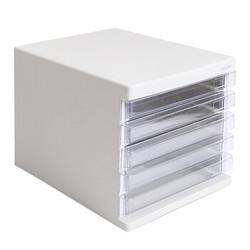 M&G 晨光 ADM95296 五层桌面抽屉文件柜 灰色 *2件