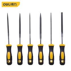 deli 得力 DL2141 打磨锉刀6件套 3x140mm