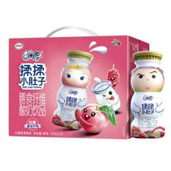 伊利 QQ星 膳食纤维酸奶饮品 水蜜桃桑葚味180ml*16盒 *2件