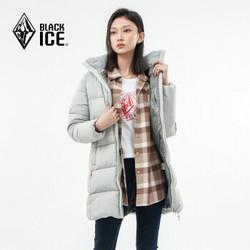 BLACK ICE 黑冰 F8958 女士中长款羽绒服