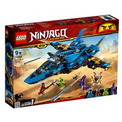 LEGO 乐高 Ninjago 幻影忍者系列 70668 雷电忍者杰的暴风战机
