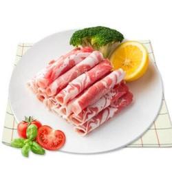 澳纽宝 新西兰原切羔羊肉卷/肉片 500g
