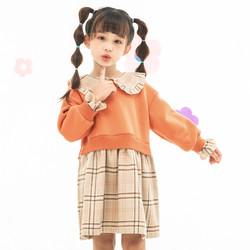 the little sugar milk baby 一米半糖 女童连衣裙