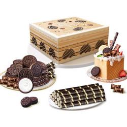 OREO 奥利奥 经典原味饼干大礼包 550g *3件 +凑单品