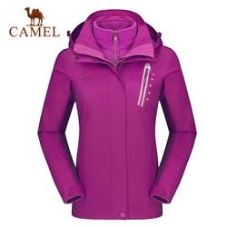 CAMEL 骆驼 A8W117122 女子户外冲锋衣