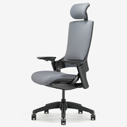 UE 永艺 电脑椅 尼龙脚 Mellet 灰色 +凑单品
