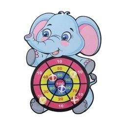 KIDNOAM 飞镖玩具黏黏球 6球+挂钩 3款标靶可选
