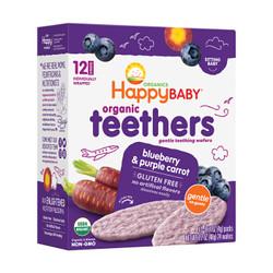 HappyBABY 禧贝 宝宝有机温和磨牙饼干 48g